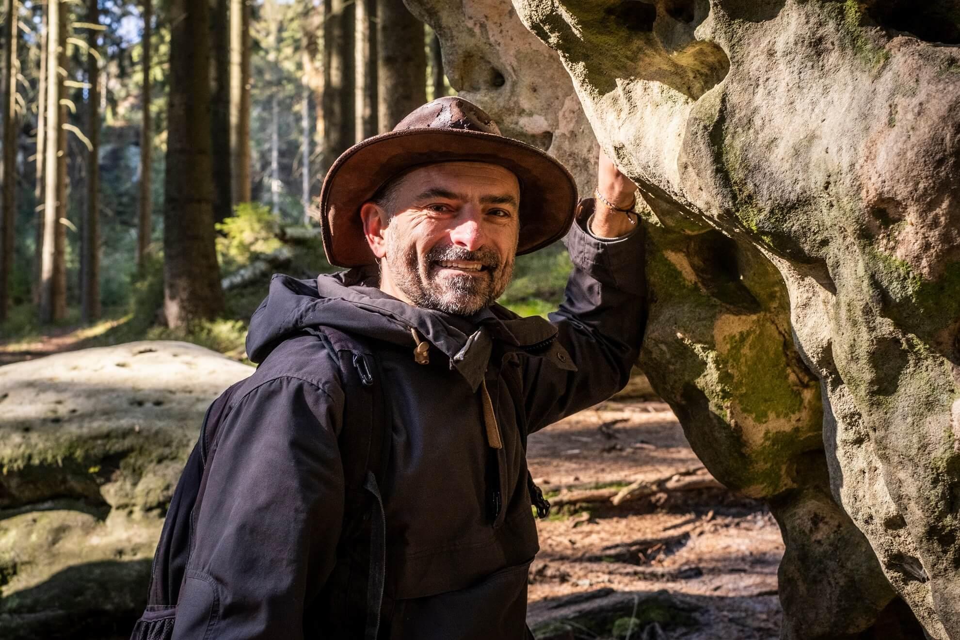 Aleš Kubica, průvodce Národního parku České Švýcarsko